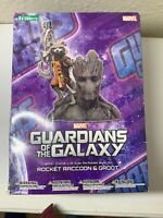Kotobukiya Art Fx + Guardians Of The Galaxy Rocket Raccoon & Groot