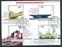 Allemagne RFA Bloc N°36 Obl (FU) 1997 - Architecture Allemande