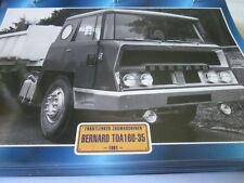Super Trucks Frontlenker Frankreich Bernard 180-35. 1981