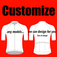 Customized Cycling Jersey Factory OEM Design Top Shirt Personalized Bib Clothing