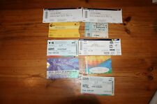 Ticket Stub Konzertkarten Genau lesen! Michael Jackson,Scorpions Justin Bieber