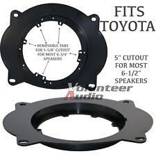"Scosche SAT69 2003 -Up Toyota Speaker Adapter Plate Adapters 6.5""- 6 3/4"" 1 Pair"
