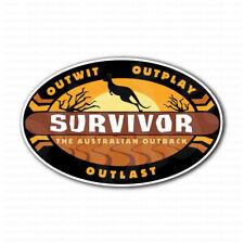 Survivor Outback Outwit Outplay Outlast Car Bumper Sticker