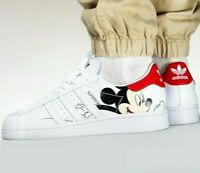 adidas Superstar x Mickey Mouse - Cloud White / Core Black - Sizes 6-14UK FW2901
