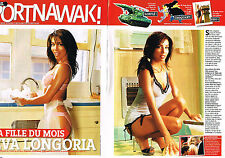 COUPURE de PRESSE CLIPPING 104  2005  EVA LONGORIA   ( 3 pages)