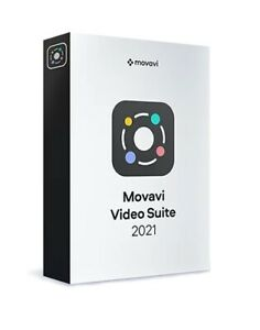 Movavi Video Suite 2021,Editor,Converter, Recorder 180+ formats {Lifetime}