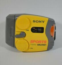 Vintage SONY SPORTS Walkman SRF-88 Portable AM FM Radio with OEM Wristband