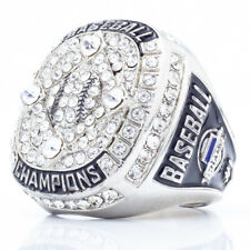 SIGNATURE Baseball Championship Ring w/ Stones 3X Super Bowl Size Champ Trophy