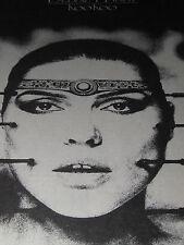 DEBBIE HARRY KOOKOO ALBUM ADVERT IN ZIGZAG MAGAZINE 1981 30 X 21 CM POP HISTORY