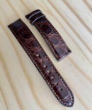 CINTURINO BREITLING ORIGINALE COCCODRILLO 18mm genuine crocodrile leather USED