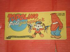ALBI TASCABILI TOPOLINO-STRISCIA N° 28-b-prima 1° SERIE originale 1948 gangster
