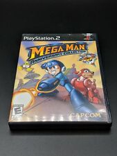 Mega Man Anniversary Collection Black Playstation 2 PS2 MINT condition COMPLETE!