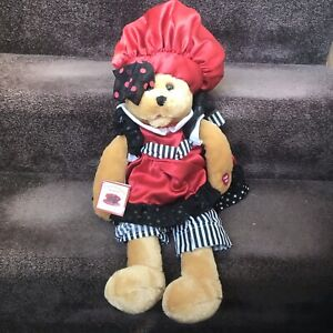 Chantilly Lane Musicals Auntie Pasta Animated Plush Bear That's Amore Music