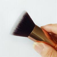 Flat Top Buffer Brush Bamboo Face Base Liquid Foundation Cosmetic Make~up Beauty
