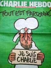 Je suis Charlie Hebdo french version - stampa originale francese