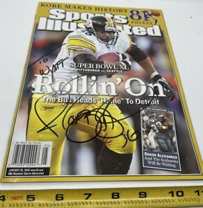 Jerome Bettis Signed Sports Illustrated