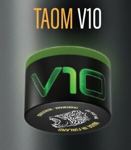 NEW V10 TAOM SNOOKER POOL CHALK, GREEN, NEW, MADE IN FINLAND ** NOW IN STOCK **