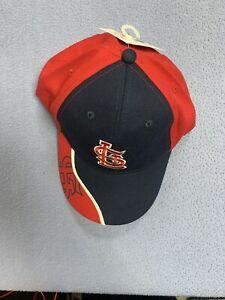 Saint Louis Cardinals Kids Adjustable Hat MLB Genuine Merchandise 2011 2006 1982