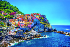 Cinque Terre 1000PCS Wooden Puzzle Jigsaw F10-95 Christmas Special Discout Gifts