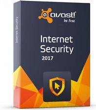 Avast Internet Security 2017 1 PC | 1 anno (incl. antivirus)