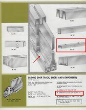"Capitol #129-36"" Rolling Ball-Bearing Glass Door Carrier, 36"", Steel, Zinc"