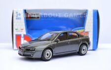 ALFA ROMEO 159 1:43 Car NEW Model Diecast Models Die Cast Metal Grey