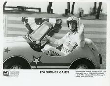 SUPER DAVE OSBORNE IN STUNT CAR FOX SUMMER GAMES ORIGINAL 1992 FOX TV PHOTO