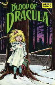 Blood of Dracula #18 FN; Apple   save on shipping - details inside