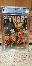 Thor 165 First Appearance Of Him (Adam Warlock) CGC 8.0 White Pages!!