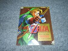 1998 NINTENDO N64 OFFICIAL ZELDA OCARINA OF TIME STRATEGY GUIDE BOOK          A2