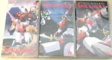 VHS ROBOT-MACHINE SHOOTING STAR GAKUSAVER 1,2,3-SERIE COMPLETA ANIME INEDITO DVD