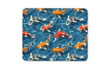 Cool Koi Carp Mouse Mat Pad Fishing Pond Dad Goldfish Fun Gift PC Computer #8382