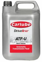 Carlube Atf-U Synthetic Automatic Transmission Fluid Gearbox Steering 4.55 Litre