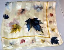 """Torrente Silk Scarf Square 20"""" This is a great looking scarf 100% Silk"""