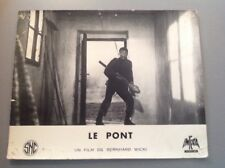 PHOTO D'EXPLOITATION (LOBBY CARD) : LE PONT