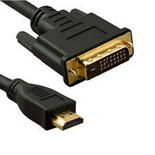 DVI to HDMI Cable Cord Wire 10FT 10 feet for HDTV PC Monitor Computer Laptop New