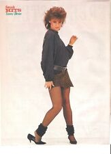 TRACY ULLMAN short skirt magazine PHOTO/Poster/clipping 11x8 inches