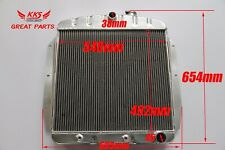 3 ROWS Aluminum Radiator FIT Chevy/GMC Truck Pickup 1955 56 57 58 1959