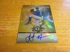 J.J. Hoover Autographed 2011 Leaf Valiant Draft #JJH Card MLB Atlanta Braves