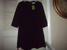 NWT $348 KATE SPADE Black Crepe Flounce Dress Size 0