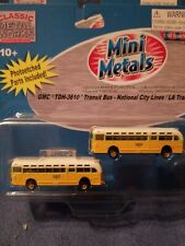 GMC TRANSIT BUS LA transit N SCALE  mini metals cmw. 1:160