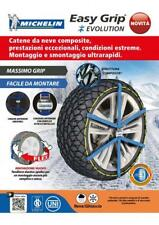 CATENE DA NEVE MICHELIN EASY GRIP EVOLUTION GRUPPO EVO 7 225/40-18