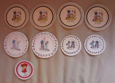Vintage Holly Hobbie Hobby Pretend Play Toy Tea Set Dishes Chilton Usa Plastic
