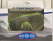 TECHNO PRO - Kinder Tauchermaske Taucherbrille Größe M - gelb