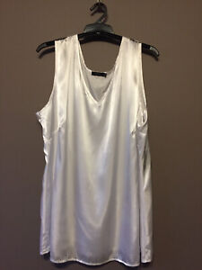 Women's Clothing Top, Singlet, Camisole, Eve-1954, Cream, Size 16, $22.50