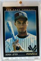 1993 93 Pinnacle Derek Jeter Rookie RC #457, New York Yankees, HOF