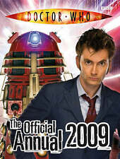 NEW Doctor Who The Official Annual 2009 Hardback Book Illustrated