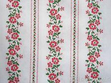 Dirndl ♥ Baumwollsatin weiß  grün rot Baumwolle Trachten Stoff Schürzenstoff
