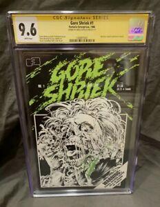 Gore Shriek 1 CGC Signature Series. 1 of 10! Plus bonus.