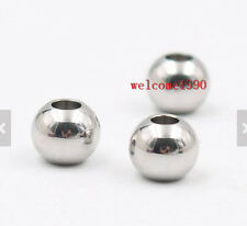 Wholesale Loose beads Balls stainless steel Jewelry Finding/Making accessories